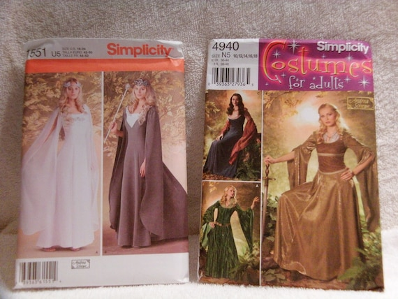 Halloween Costume Patterns McCall Simplicity And Butterick | Etsy
