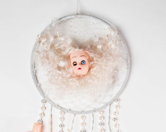 Dismantled Doll Dreamcatcher