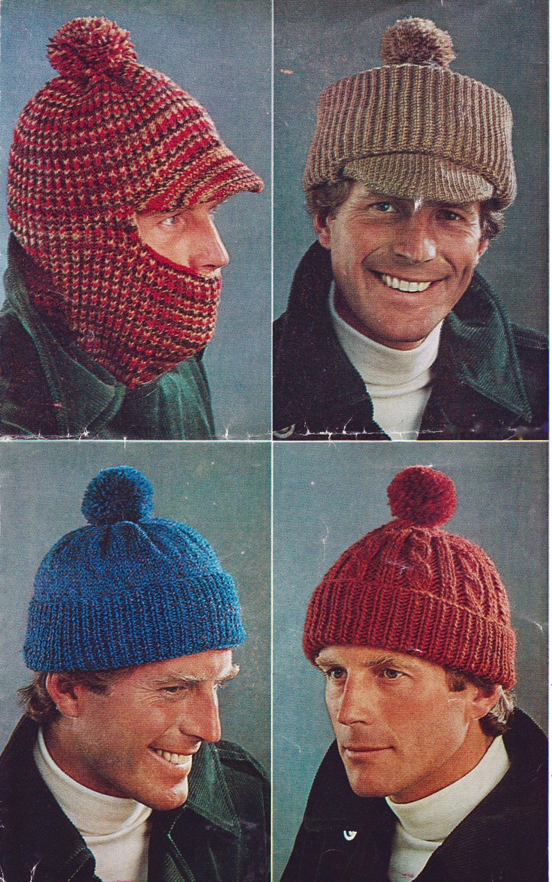 d70c660994a PDF Instant download vintage 1970 s knitting pattern.