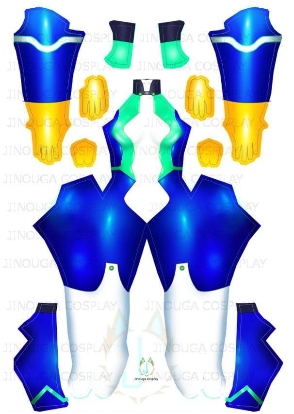 Nejire Hado - suit pattern (download file)
