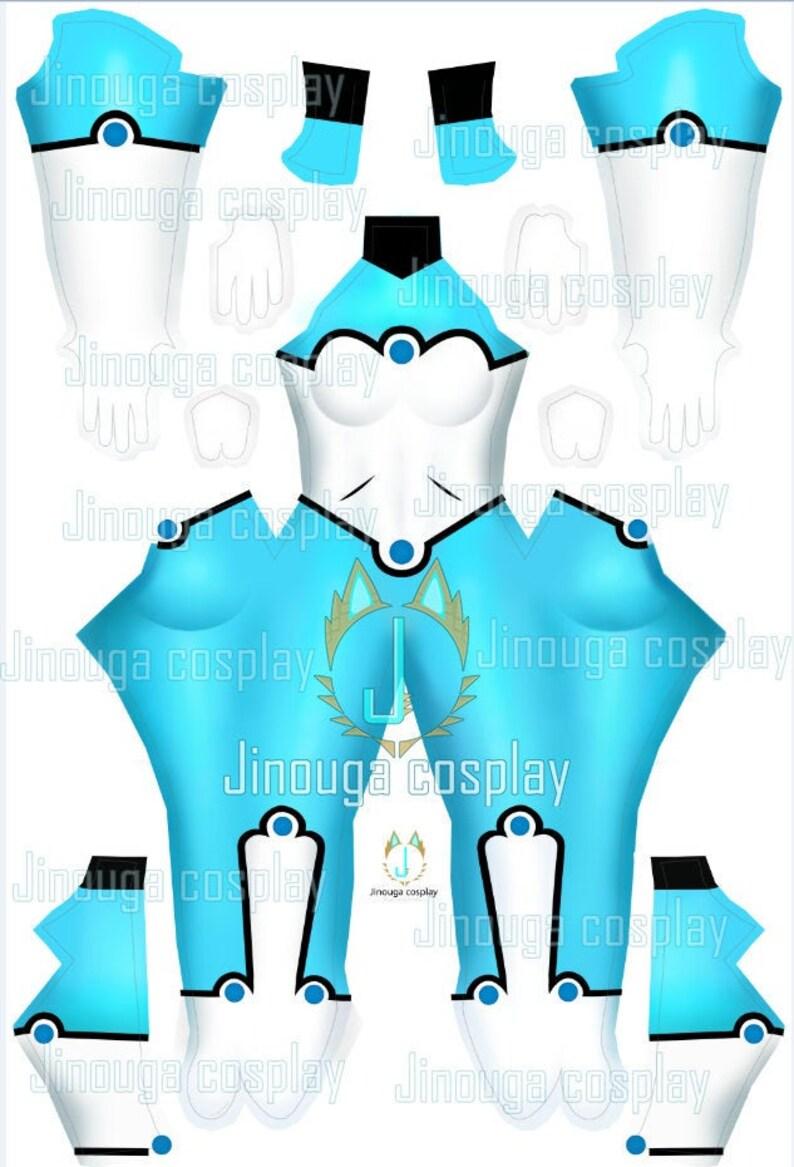 Bunnix suit pattern download file