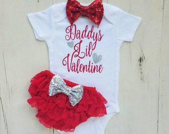 4a85a86320005 Valentine baby girl | Etsy