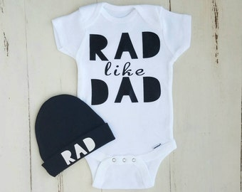 Onesie, Baby boy clothes, Baby boy, Baby, Baby boy onesie, onesies, Rad like dad, Baby clothes, Baby onesies, Boy onesie, Cute onesies, Boy