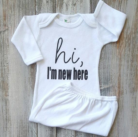 Newborn sleeper Newborn gown Baby gowns Baby clothes Baby   Etsy