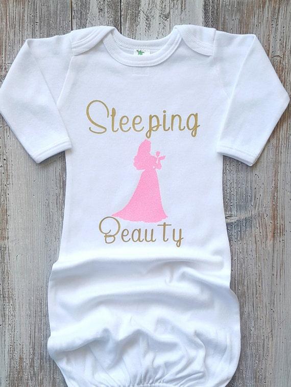 Newborn sleeper Newborn gown Baby gowns Disney baby Baby   Etsy