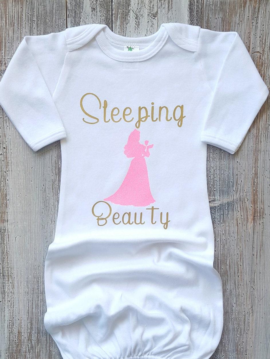 Newborn sleeper Newborn gown Baby gowns Disney baby Baby | Etsy