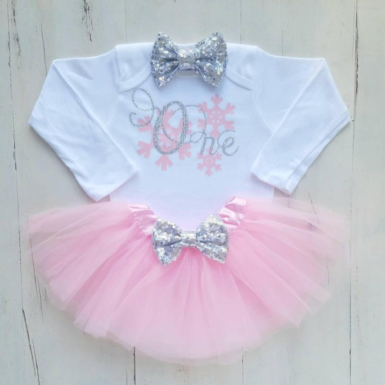 1e6c5e48e096 Winter onederland onesie Winter onederland outfit Baby girl
