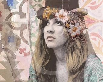 Stevie Nicks, Stevie Nicks Print, Stevie Nicks Art Print, Stevie Nicks Wall Art, Stevie Nicks Prints, Stevie Nicks Artwork, Fleetwood Mac