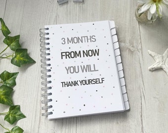 Weight loss Journal , 2022 Daily Planner, Food Diary, Slimming World, WW, Keto, Calorie Counting - Thank Yourself