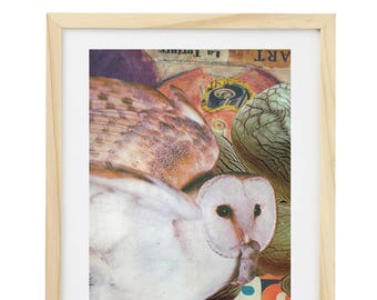 "Collage ""The owl"""