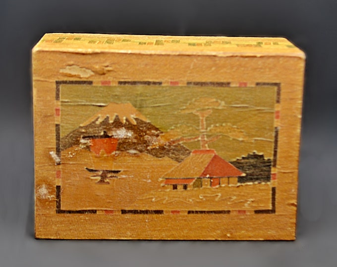 Secret Compartment Box, Small Japanese Puzzle Box
