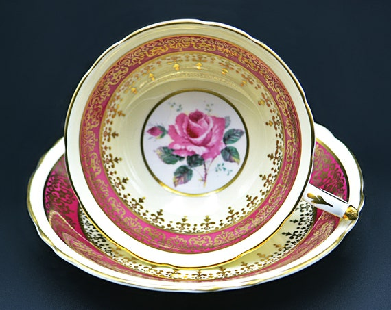Paragon Double Warranted Teacup And Saucer, A837