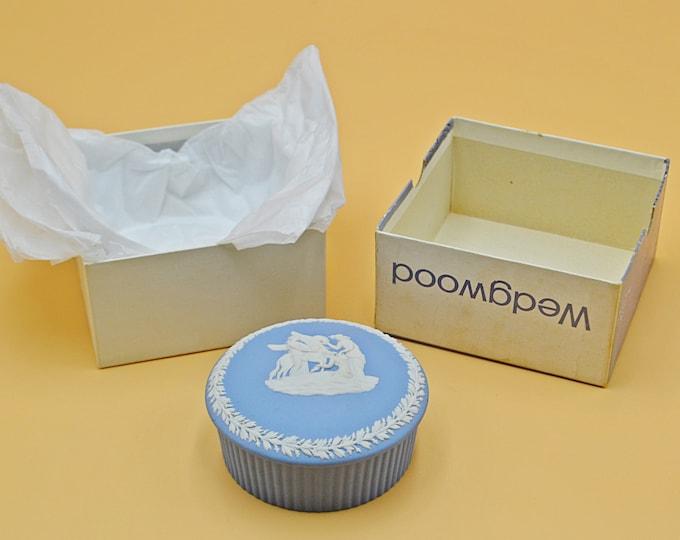 Wedgwood Fluted Candy Box, Trinket Box