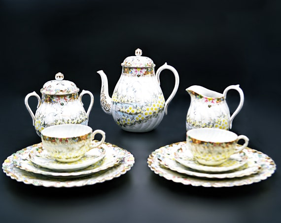 Antique 'Dai Nippon' Tea Set, 11 Piece Luncheon Set