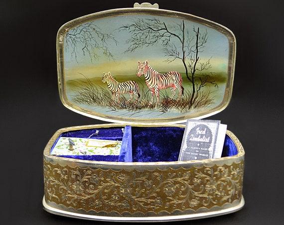 Large Fred Zimbalist Music Box With Thoren's Swiss Movement, OOAK Jewelry Box