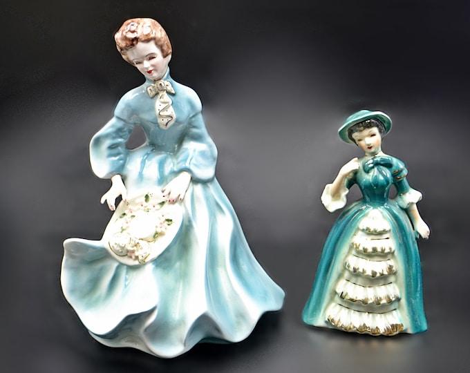 Florence Ceramics Grace Figurine, Napco Audrey Figurine