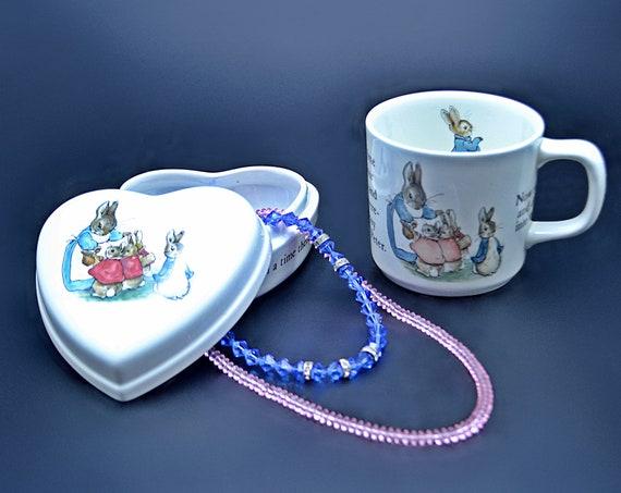 Wedgwood Peter Rabbit Trinket Box, Beatrix Potter Mug, Peter Rabbit Mug, Wedgwood Of Etruria And Barlaston