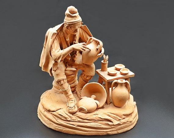 Terracotta Sculpture Of Potter
