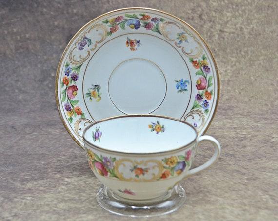 Schumann Bavaria Dresden Teacup And Saucer