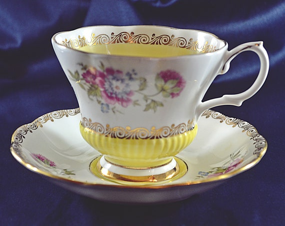 Royal Albert Teacup And Saucer, Reverie Series, Vintage Royal Albert China