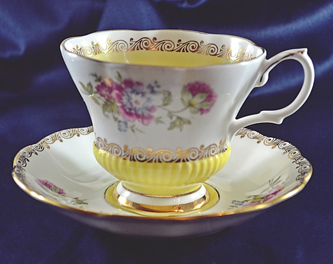 Royal Albert Teacup And Saucer, Reverie Series, Vintage Royal Albert China