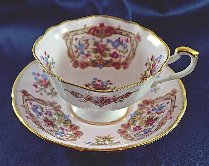 Paragon, Antique Series, Sheraton Pink, Vintage Paragon China