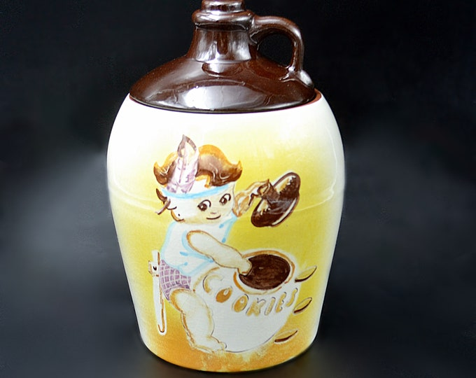 Collectible Cookie Jar, Canuck Pottery, St John New Brunswick