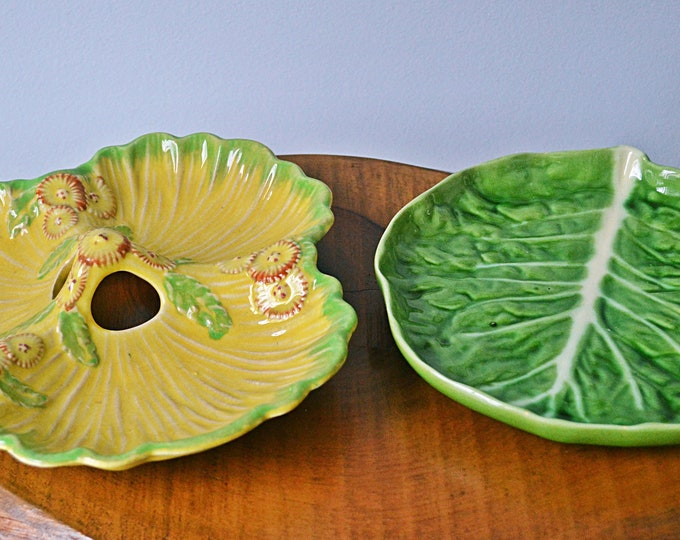 Two Ceramic China Dishes, Novelty Dishes