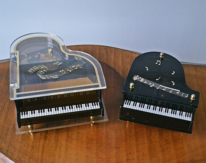 Schmid Music Boxes, Piano Music Jewelry Box