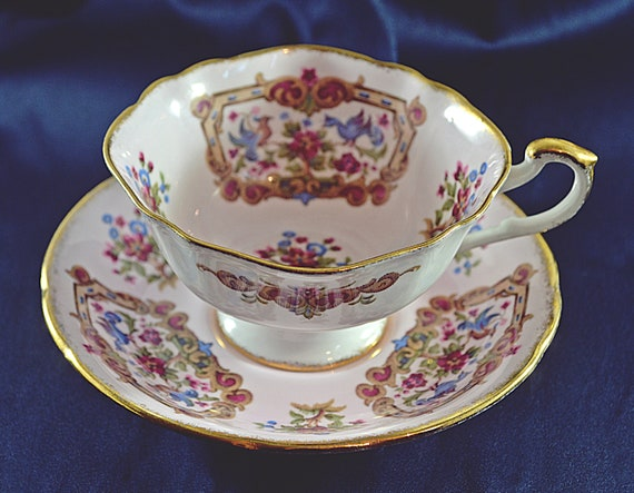 Paragon, Antique Series, Sheraton Pink, Vintage Paragon China