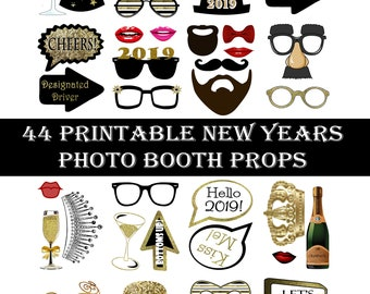 New Years Eve Props Etsy
