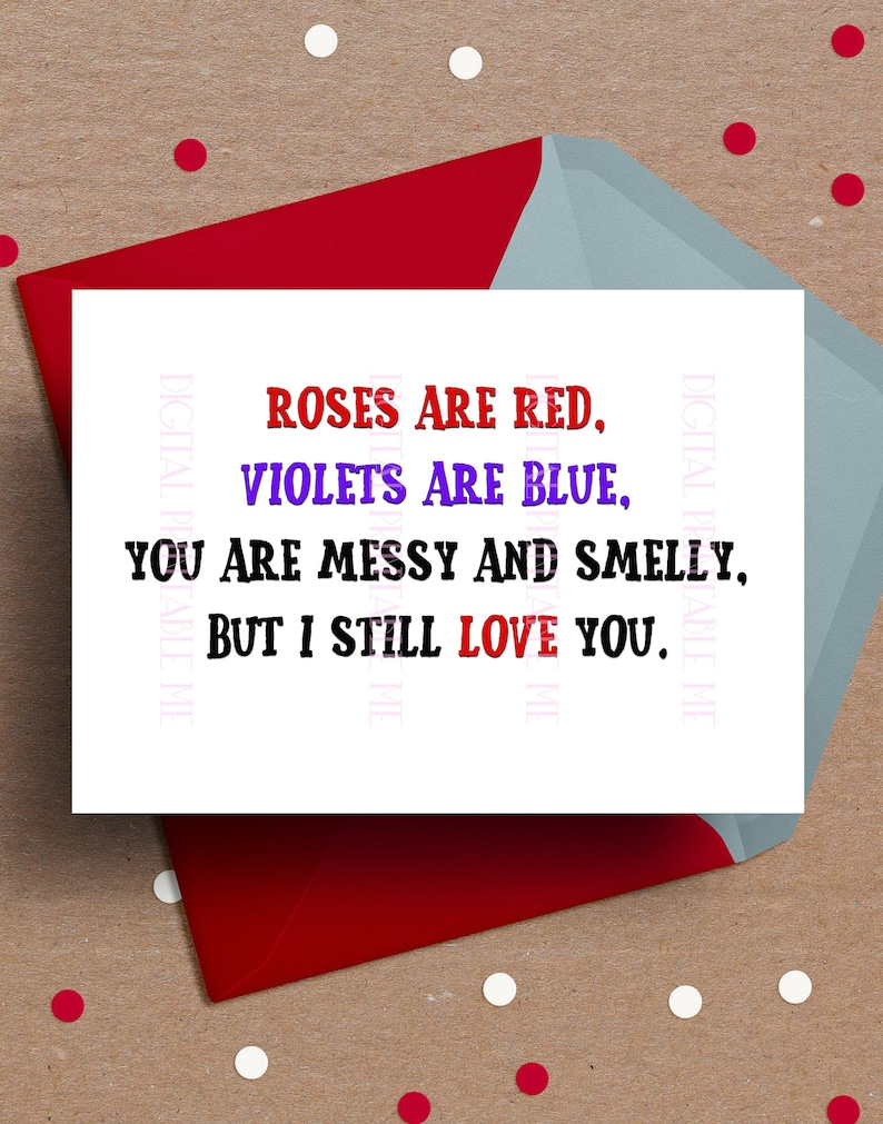 graphic about Funny Printable Valentines Day Cards identified as Amusing Valentines working day Card, Anniversary Card, Printable take pleasure in, impolite valentine for Him, roses, birthday card spouse boyfriend, anniversary