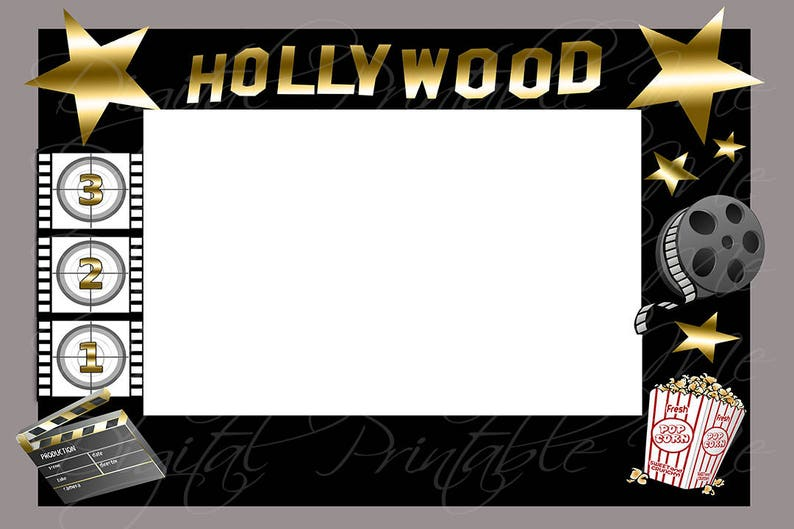 Photo booth frame background