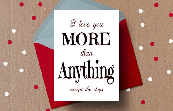 photograph relating to Funny Printable Valentines titled Humorous Valentine Card, I get pleasure from by yourself further, Pet dogs, Doggy card, anti valentines working day card, Printable valentines working day card, anniversary, take pleasure in card,