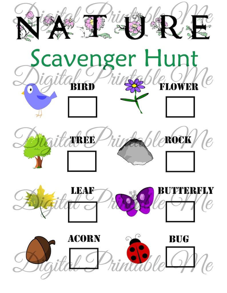 picture about Printable Nature Scavenger Hunt known as Mother nature Scavenger Hunt Printable, Small children Match, Back garden, Activity, Down load, Bash, Spring, Strolling, Hike, Functions Little ones, Entire world Working day sheet