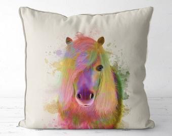 Horse decor horse pillow pony gifts horse gift equestrian decor girls room decor girls bedroom horse cushion horse lover girls nursery decor