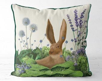 Bunny gifts nursery pillow easter pillow Cabbage Patch5 farmhouse pillow uk seller only uk shop Rabbit nursery decor decorative pillow