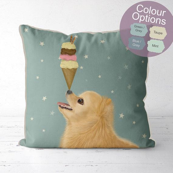 Pomeranian Gifts Pomeranian Pillow Pomeranian Cushion Dog Etsy