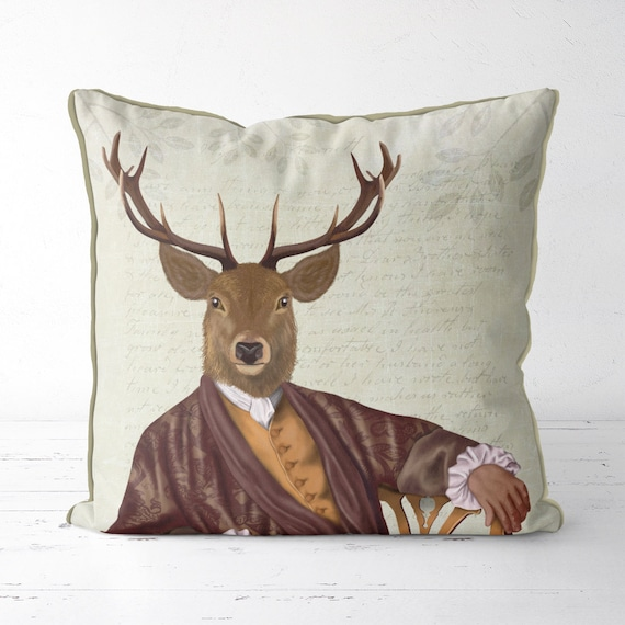 Deer Stag Long Cushion Covers Pillow