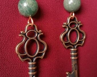 Love is Key earrings