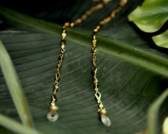 7961001249cf GOLD SUMMERLOVE shadeloops    eyeglass chain