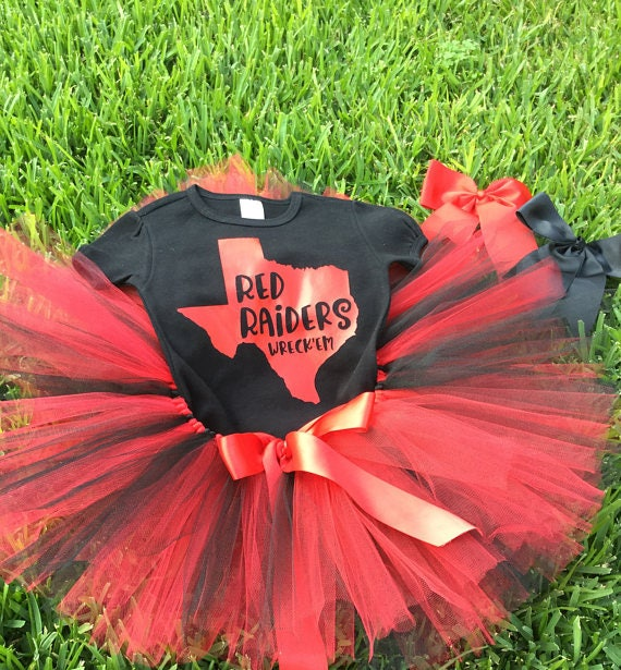 Pets First Texas Tech Raiders Cheerleading Outfit