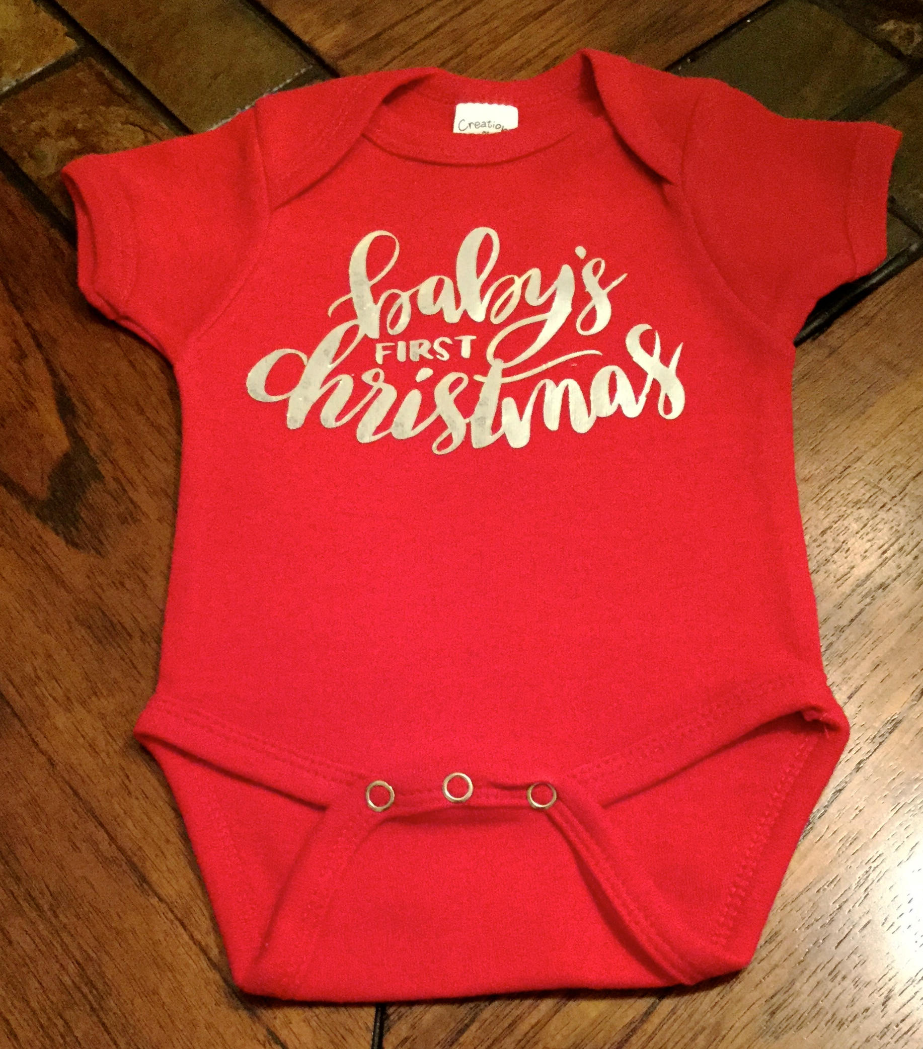 christmas onesiebabys first christmaschristmas pajamasbaby bodysuitholiday clothes for baby red onesie
