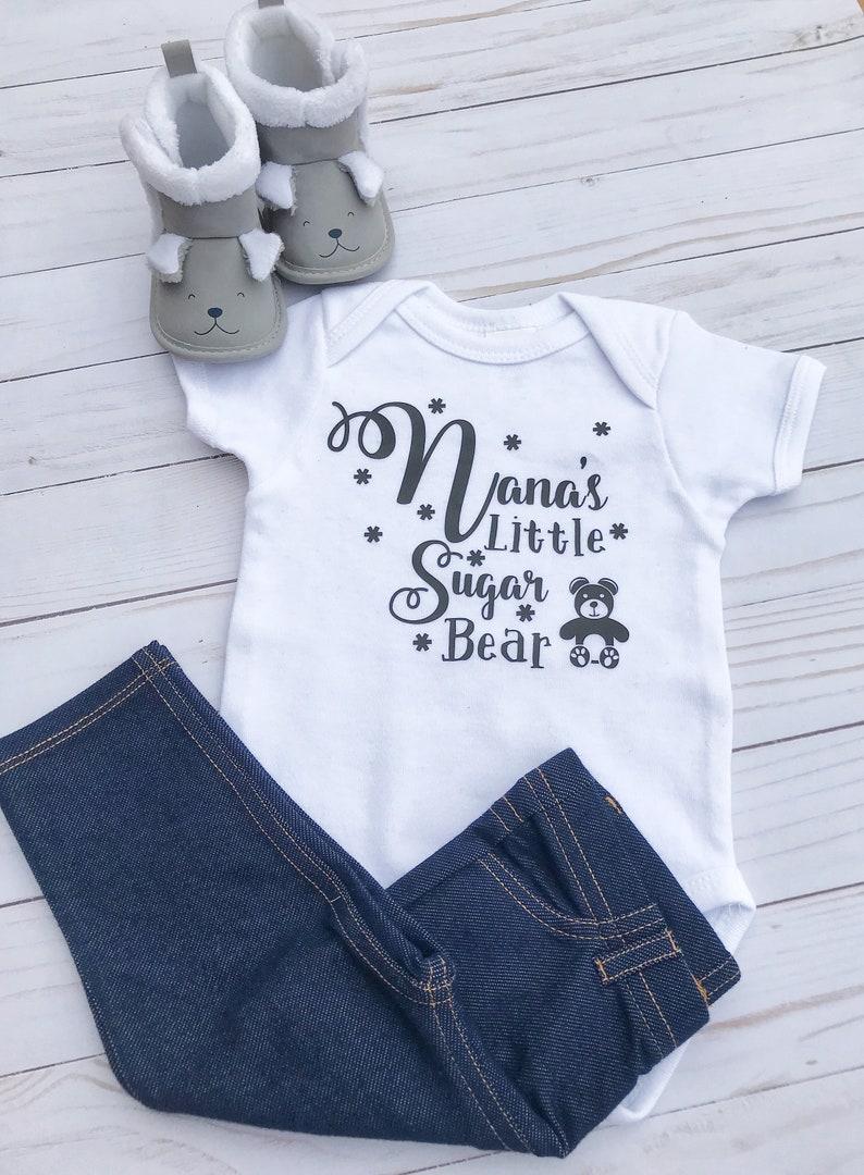 Nana/'s Little Sugar Bear Bodysuit