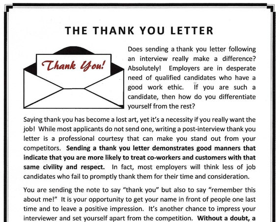 Thank you letter template spiritdancerdesigns Gallery