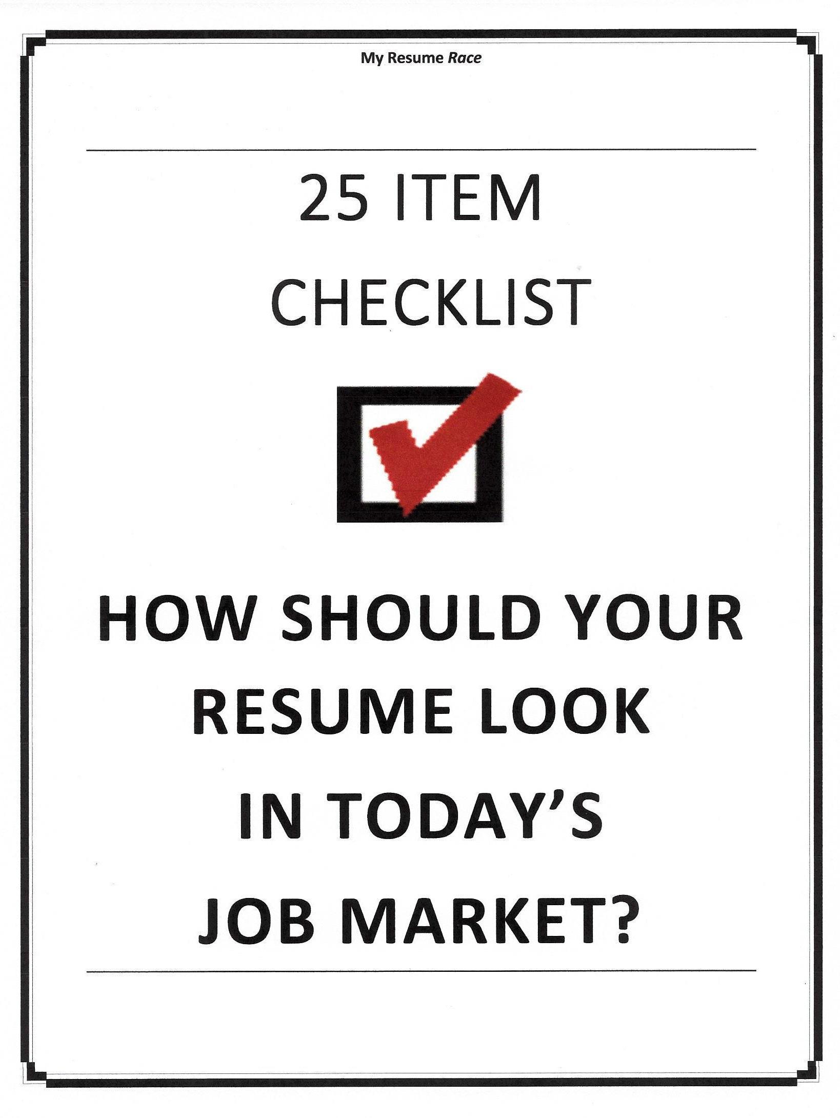resume format questionnaire  u0026 worksheet
