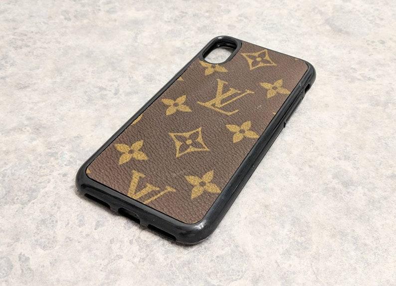 0b5b06e29fda Louis Vuitton iPhone X case RepurposedLouis Vuitton iPhone