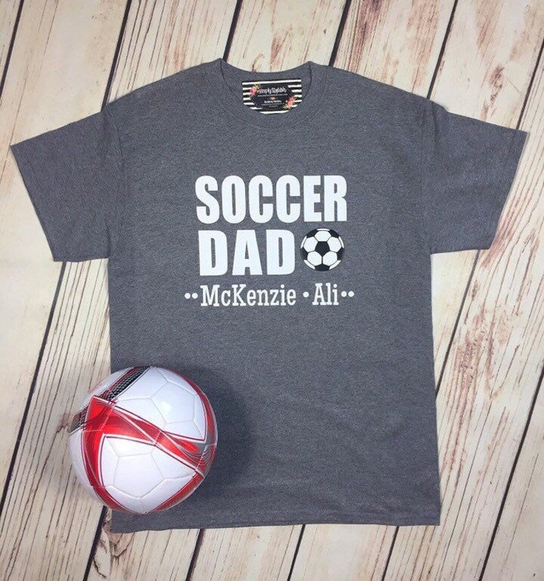 bf625ea47 Personalized Soccer Dad Shirt Soccer Player Shirt Soccer | Etsy