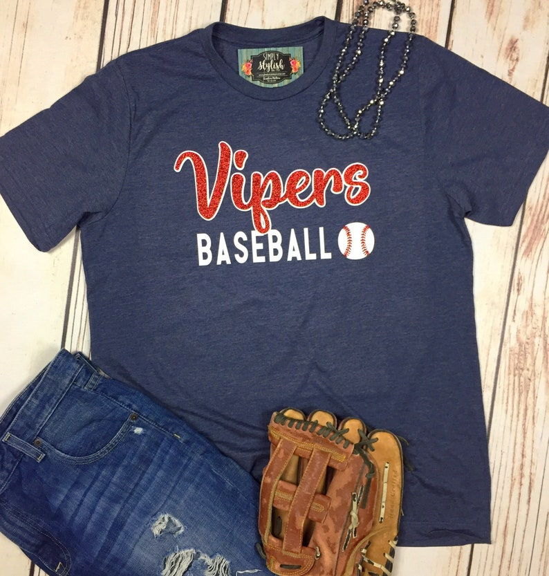 062873e9c Baseball T-Shirt Baseball Team Shirt Baseball Mom Personalized   Etsy