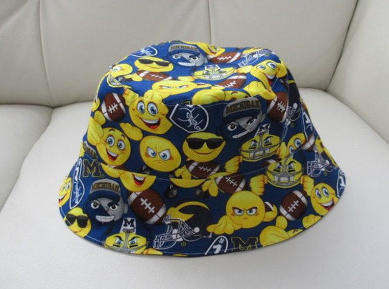 18a1c89f66f Michigan Emoji Reversible Bucket Hat
